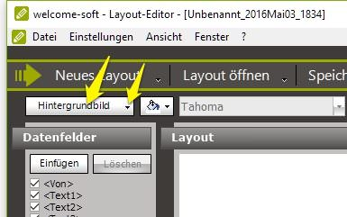 welcome-soft Layout-Editor Hintergrundbild