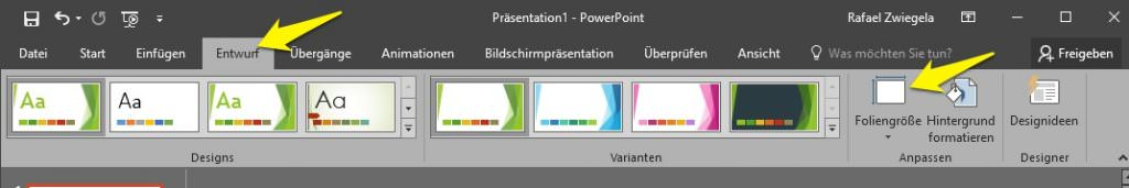 welcome-soft PowerPoint 2016 Einbindung